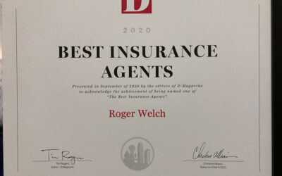 D Magazine Top Insurance Agent 2020  Years in a Row