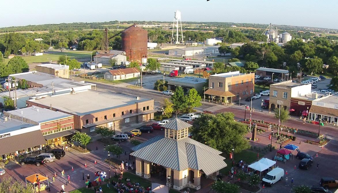 photo of downtown Celina TX